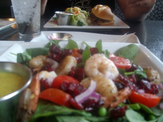 Shrimp & Spinach Salad, Philly Cheesesteak, Hug-Hes Cafe, North Ogden, UT