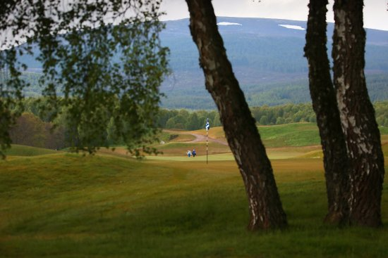 Aviemore, UK: The 3rd hole