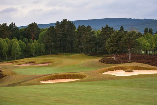 Aviemore, UK: The 7th hole