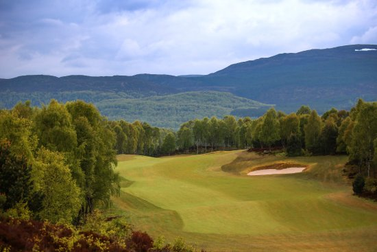 Aviemore, UK: The 13th hole