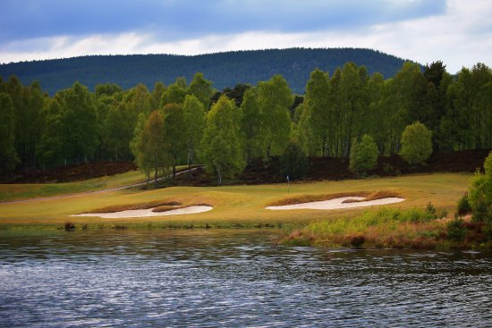 Aviemore, UK: The 16th hole