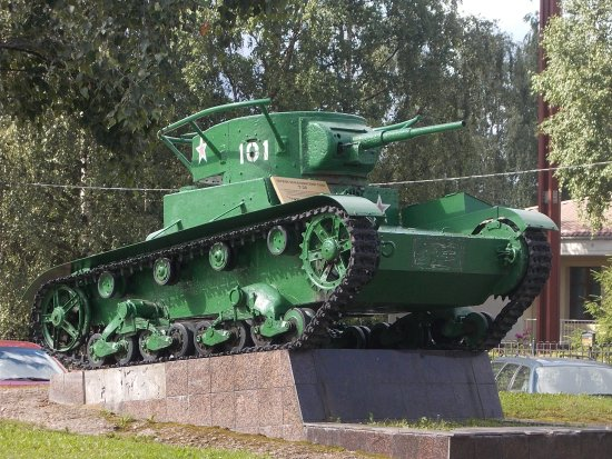 Monument Tank T-26