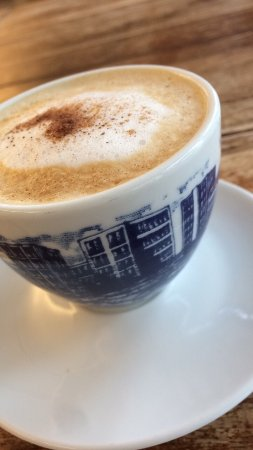 Vikoyri, Norway: Cappuccino