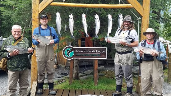 Kenai Riverside Lodge: A successful day
