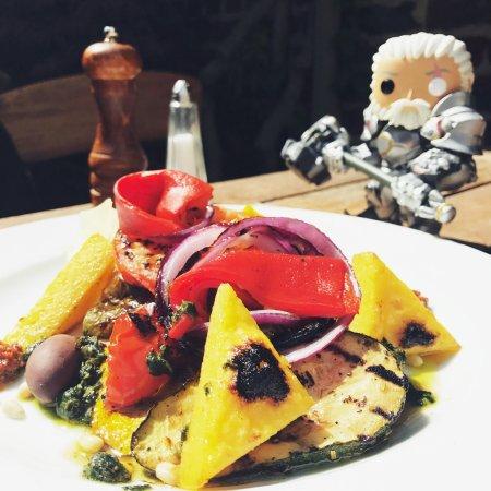 Le grenier d'Elvire: Salade de Legumes Grillés & Polenta
