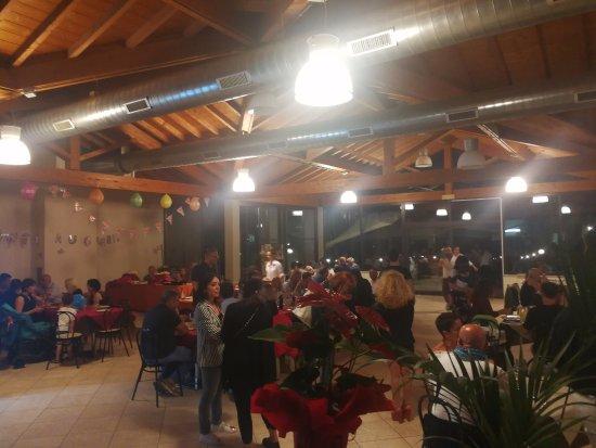 Zero7cinque Lago: Sala interna ristorante.