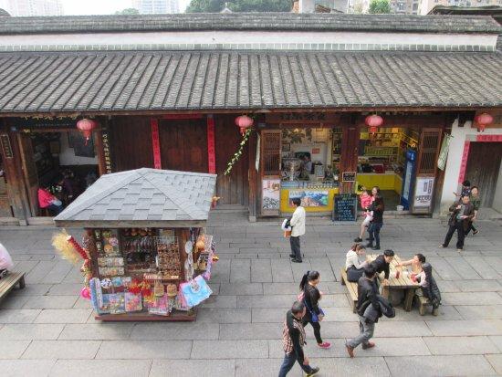 Fuzhou, China: 從福州魚丸餐廳看街道