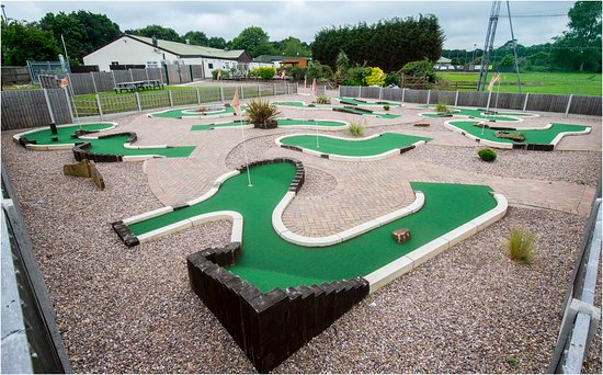 Loughborough, UK: Charnwood Golf & Leisure Complex - Mini-Golf