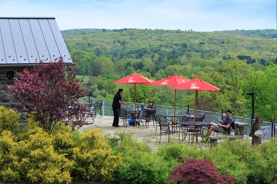 Cocoon Coffee House: Our outdoor patio is the perfect spot to relax and enjoy the day.