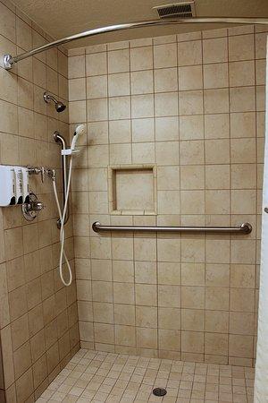 Stratford Inn: King Shower Only Bathroom