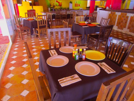 Maya Caribe Hotel: Vista Restaurant Cielito Lindo