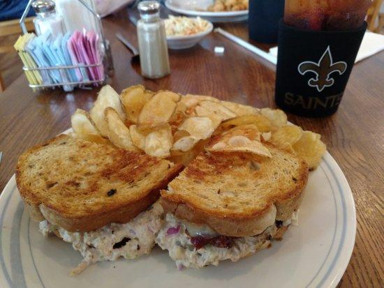 Hampstead, NC: Best tuna melt sandwich in THE UNIVERSE!