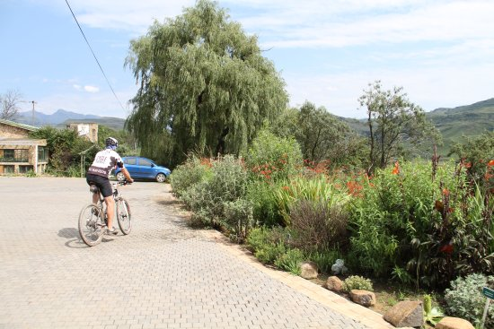 Sani Lodge Backpackers on the Sani Pass road is the perfect base for Mountain biking enthusiasts