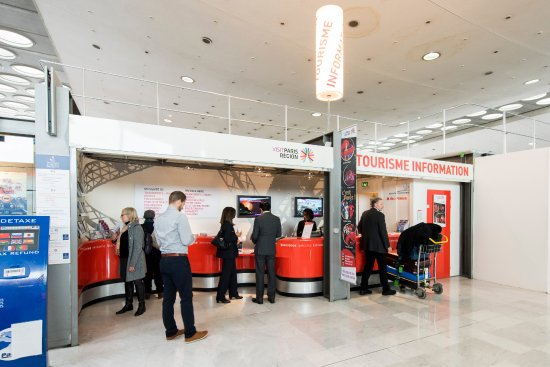 Tourist Information Desk - CDG Terminal 2C