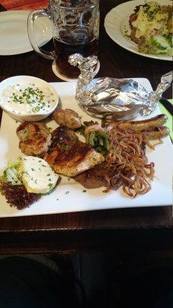 Pegnitz, Германия: Two amazing dishes