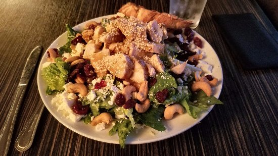Ocean Shores, WA: Cranberry Chicken Cashew Salad - best salad I've ever had in my life; no exaggeration.