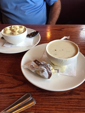 Westborough, MA: our chowders