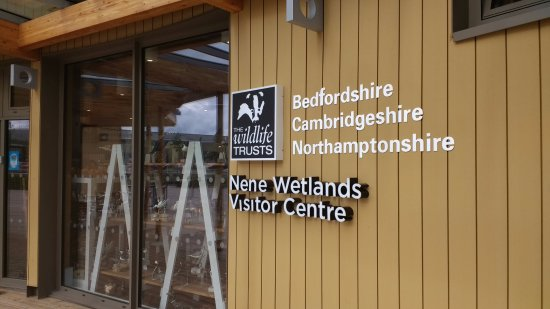 Rushden, UK: Entrance to Nene Wetlands Visitor Centre