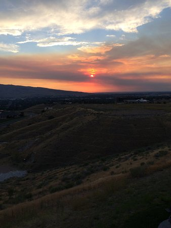 Holiday Inn Express & Suites Pocatello: Balcony view @ Stardust