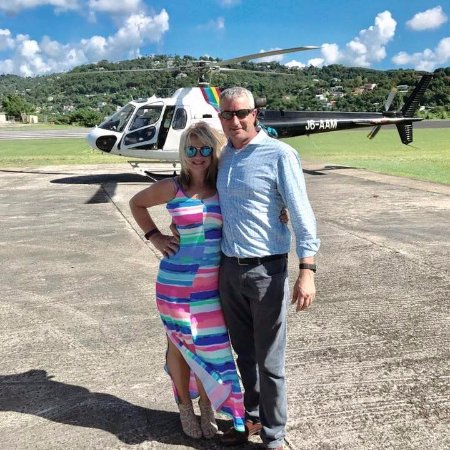 Cap Estate, Saint Lucia: We recommend the helicopter transfers from UVF airport.