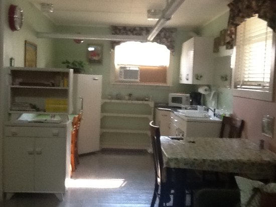 Waterville, WA: Well equipped and clean kitchen