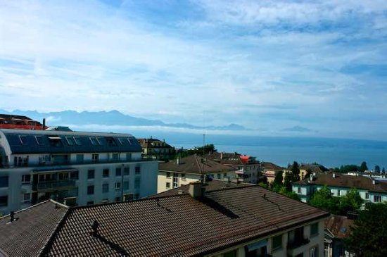 Best Western Plus Hotel Mirabeau: Lac Leman from room 502