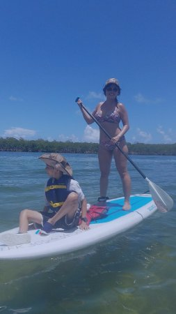Tavernier, FL: My lil one has been paddling with me since he was 4