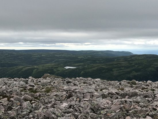 Gros Morne Hiking Trail: view from the top