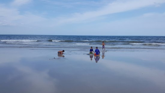 Canaveral National Seashore : Our grandsons at Playalinda Beach