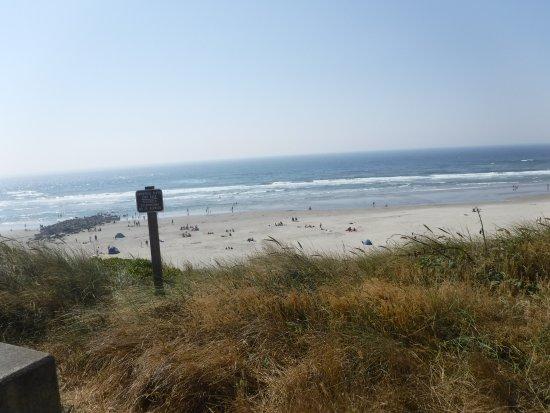 Nye Beach : Beach view