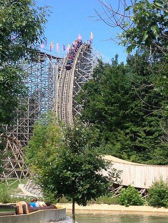 Holiday World & Splashin' Safari: The Legend Roller Coaster