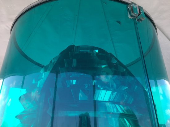 Portsmouth Harbor Lighthouse: fresnel lens