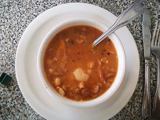 Hudson, FL: Garbanzo Bean Soup