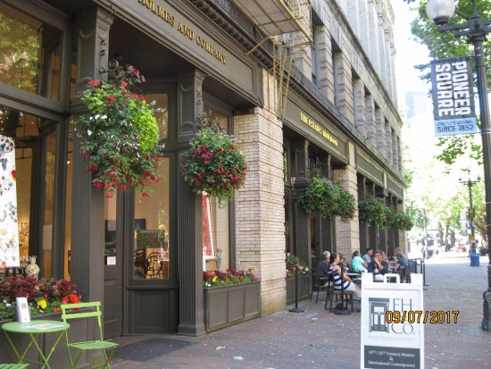 The Restaurants Picture Of Pioneer Square Seattle Tripadvisor