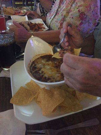 Bier Garden: Bowl of Chili. Thick and large