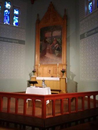 Vaasa, Finnland: Palosaaren kirkon alttaritaulu