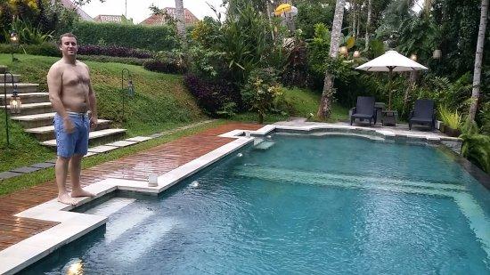 The White Villas Ubud: Pool area