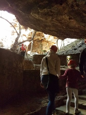 Sterkfontein Cave: At the exit!