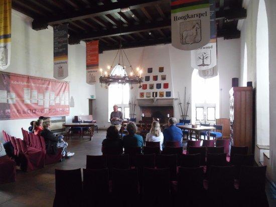 Castle Radboud: Gothic room
