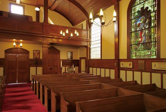 Port Williams, Canada: St John's Cornwallis, interior