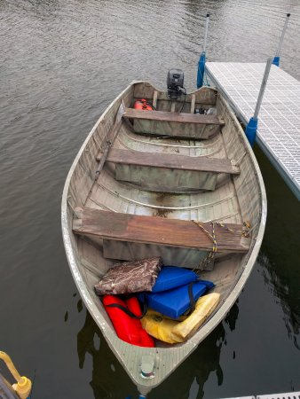 Dunrovin Resort: Rental boat