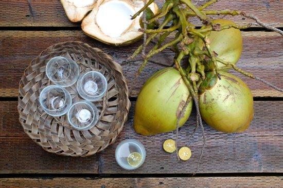 Colonia, Negara Federasi Mikronesia: Fresh coconuts