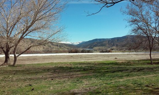 View Of Tejon Ranch from Lebec rest area of I-5