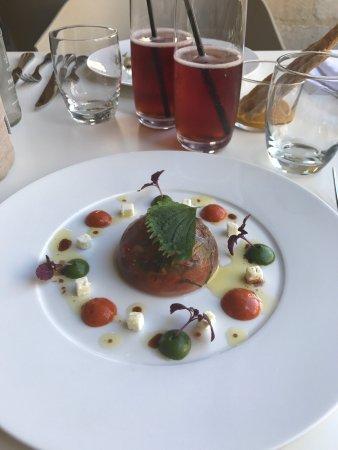 Super repas du midi dans le magnifique cadre du restaurant le 4 me mur photo de le quatrieme - Le 4eme mur bordeaux ...