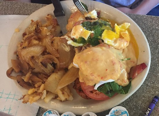 Lenny's Restaurant: Eggs Benedict w/o English Muffin