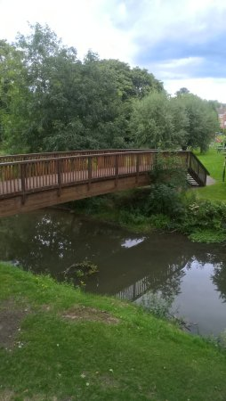 Buckingham, UK: Bridge over River Ouse