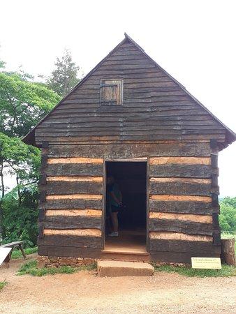 Το Monticello του Thomas Jefferson: Slave quarter