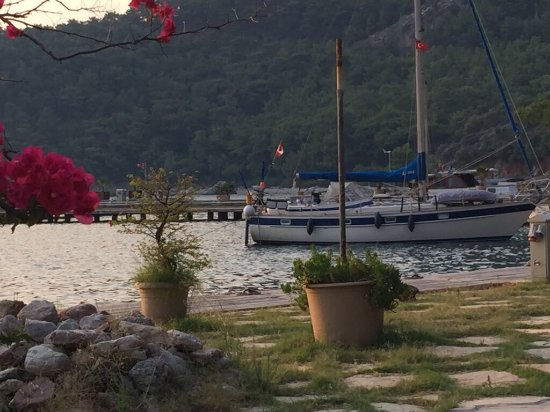 Ekincik, Турция: Our fantastic mooring at My marina