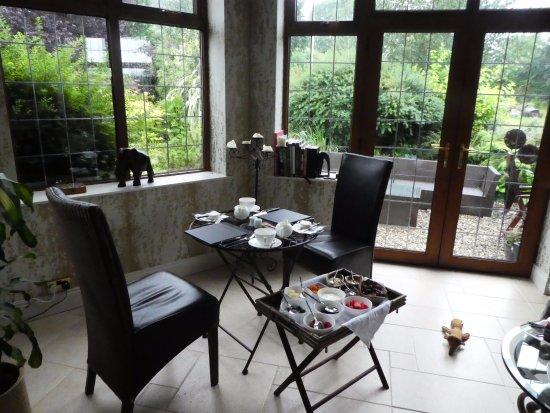 Scarva, UK: beautiful breakfast setting