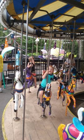 Canobie Lake Park: Kiddie Land at Canobie